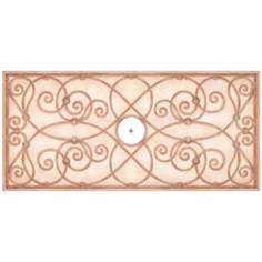 "Jardin Light 36"" Wide Repositionable Ceiling Medallion"