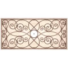 "Jardin Dark 36"" Wide Repositionable Ceiling Medallion"
