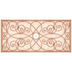 "Jardin Light 48"" Wide Repositionable Ceiling Medallion"