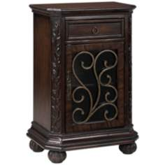 Arriana Cherry Finish End Table