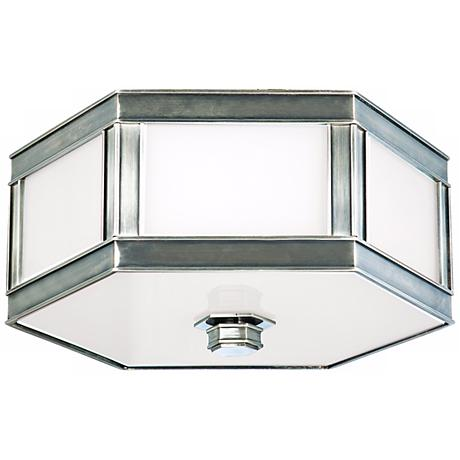 "Nassau Historic Nickel 16"" Wide Ceiling Light"