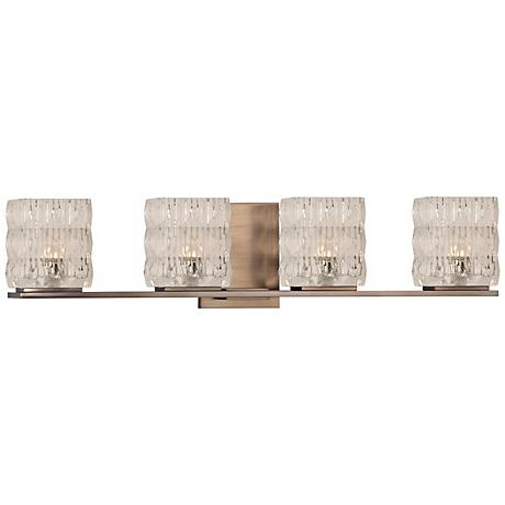 "Torrington 26"" Wide Brushed Bronze Bath Light"