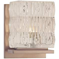 "Torrington 5 1/2"" High Brushed Bronze Wall Sconce"