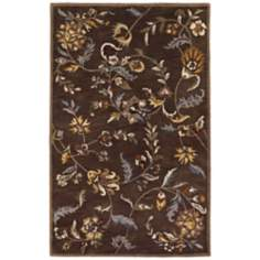 Castello 4284 Buckingham Saddle Floral Area Rug