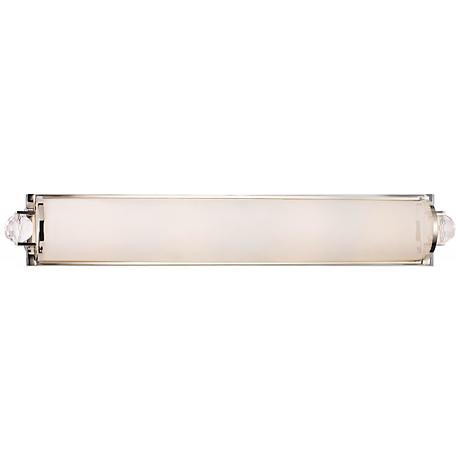 "Prescott 29 1/2"" Wide Polished Nickel Bath Bar"