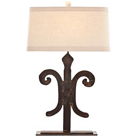 Arteriors Home Blackburn Cast Iron Table Lamp