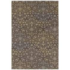 Dolce 4044 Coppola Brown-Beige Area Rug