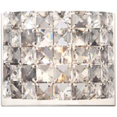 "Vienna Full Spectrum 6 1/4"" Wide Crystal Wall Sconce"