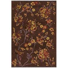 Pave 1241 Belle Rose Floral Area Rug