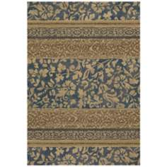 Easton 6386 Francesca Denim-Gold Area Rug