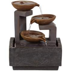 Triple Tier Indoor Table Fountain