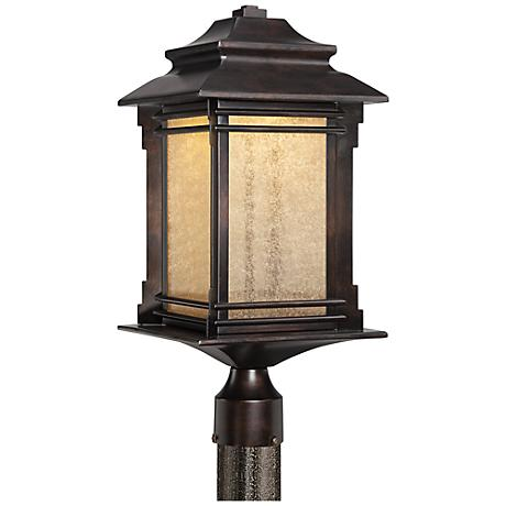"Hickory Point 21 1/2"" High LED Outdoor Post Light"