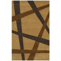 Eleen Collection 5908 Camel Wool Area Rug