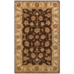 Golden Collection 802 Brown and Beige Area Rug