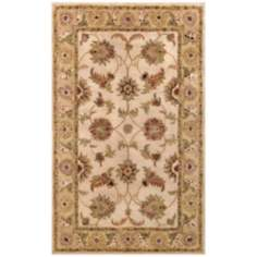 Harmony Collection 907 Beige and Light Green Rug