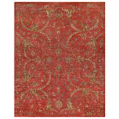 Legacy Collection 1501 Red Area Rug