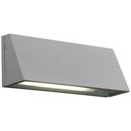 "Origo 11"" Wide Silver Outdoor Wall Light"