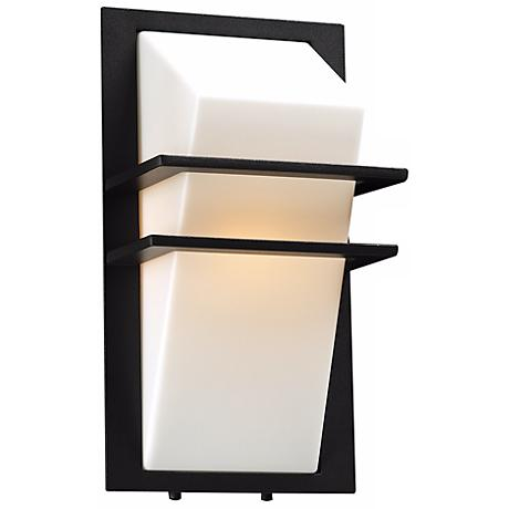 "Juventas 13 1/2"" High Bronze Outdoor Wall Light"