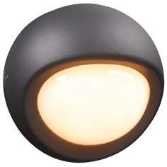 "Sol Collection 7 1/2"" Wide Bronze Outdoor Wall Light"