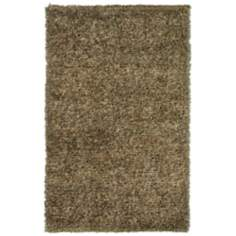 Marina Collection 4301 Beige Shag Area Rug