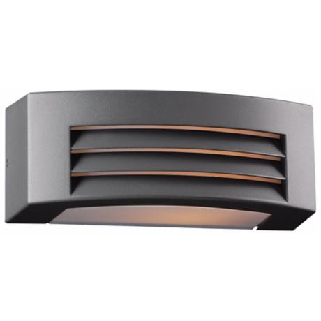 "Luciano 11 1/2"" Wide Bronze Outdoor Wall Light"