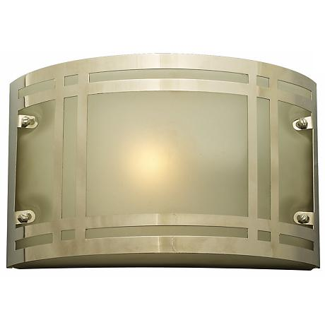 "Oslo 10 1/2"" Wide Polished Chrome Outdoor Wall Light"