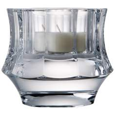 Central Park Collection Crystal Votive Candle Holder
