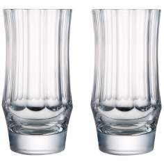 Central Park Collection Set of 2 Crystal Highball Glasses