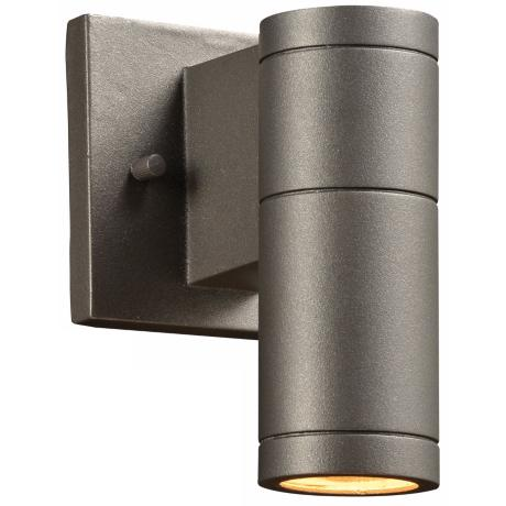 "Troll-I 7 1/2"" High Bronze Outdoor Wall Light"