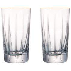 Elmsford Collection Set of 2 Crystal Highball Glasses