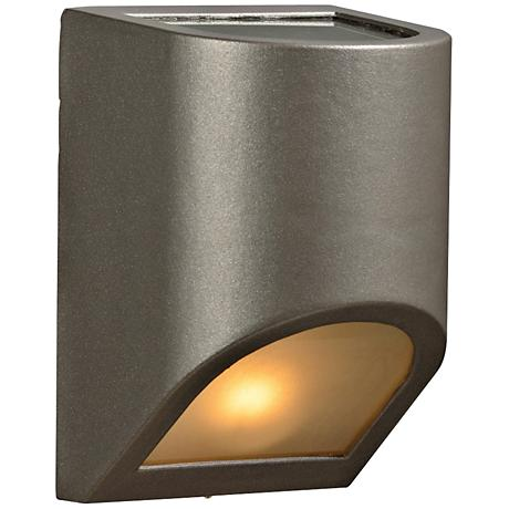 "Perry 8"" High Top and Bottom Bronze Outdoor Wall Light"