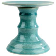 Parisian Teal Small Round Platter