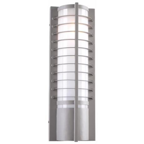 "Terrence Collection 21 1/2"" High Bronze Outdoor Wall Light"