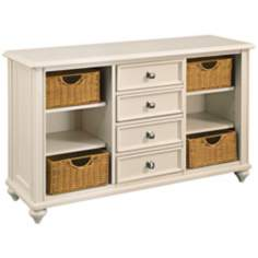 Camden Buttermilk 4-Drawer Console Table
