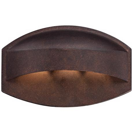 Possini Euro Design Bronze Dark Sky 11 Quot Wide Led Wall
