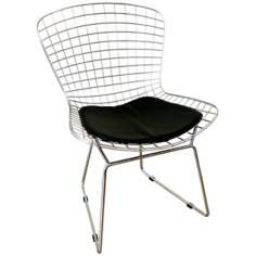 Bertoia Steel Mesh Side Chair
