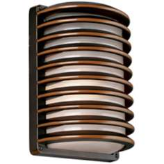 "John Timberland Grid 10"" High Energy Efficient Wall Sconce"