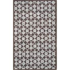 Ecconox 72352 Luna Grey and Brown Area Rug