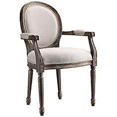 Singleton Weathered Gray Accent Chair