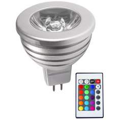 2-Watt Color Changing MR16 LED Bulb With Remote