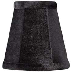 Black Velvet Mini Shade 3x5x5 (Clip-On)