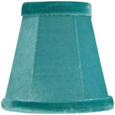 Blue Velvet Mini Shade 3x5x5 (Clip-On)