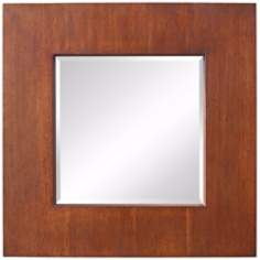 "Murray Feiss Healy 30"" Square Wall Mirror"