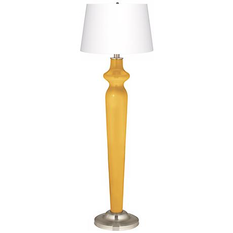 Goldenrod Lido Floor Lamp