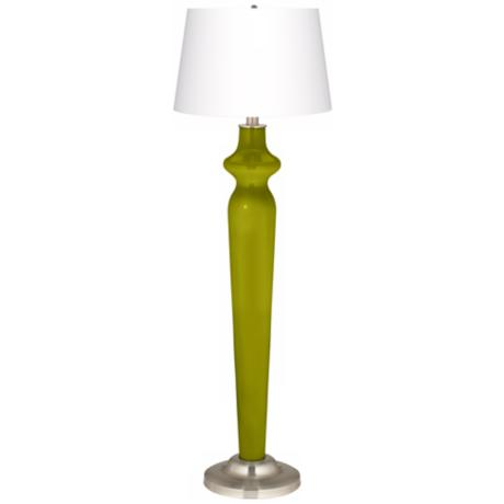 Olive Green Lido Floor Lamp