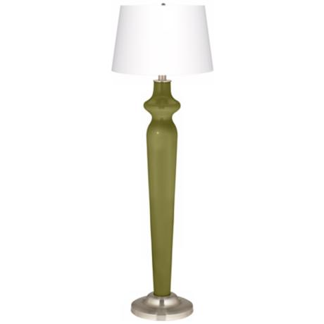 Rural Green Lido Floor Lamp