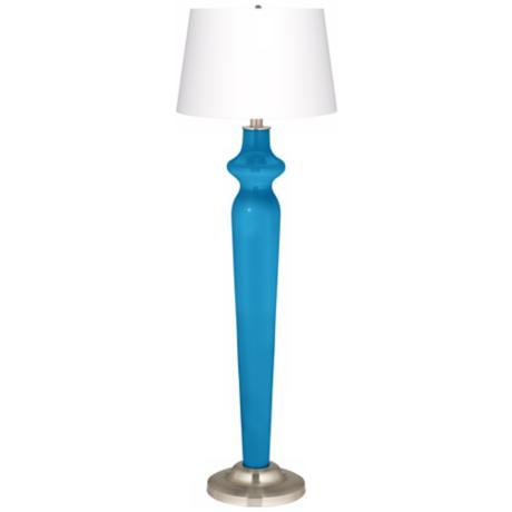 River Blue Lido Floor Lamp