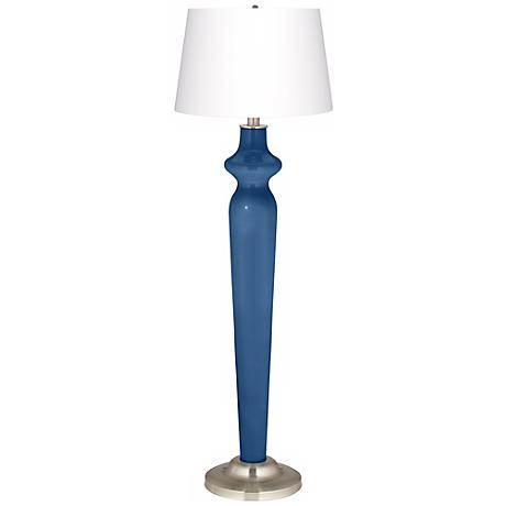 Regatta Blue Lido Floor Lamp