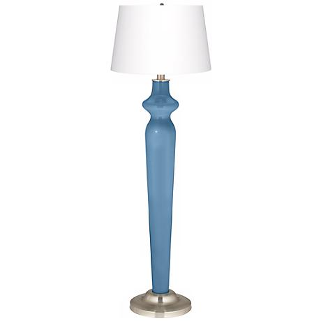 Secure Blue Lido Floor Lamp