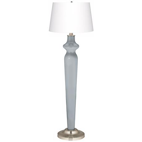 Uncertain Gray Lido Floor Lamp